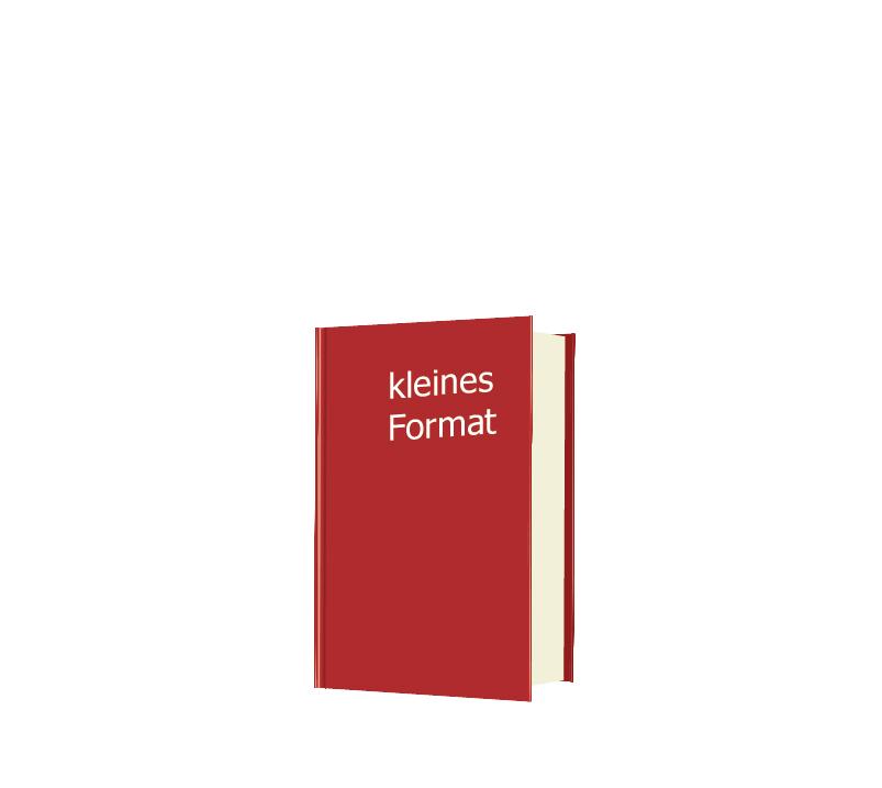 Drucken Sie Ihr Buch in Hardcover - kleines Format