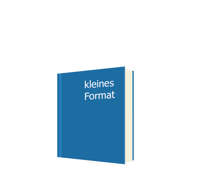 Softcover - kleines Format